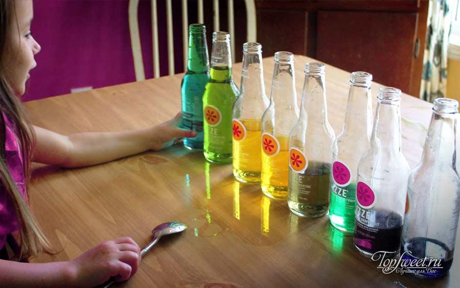 Бутылки с водой. Топ 10 научных открытий для самых маленьких