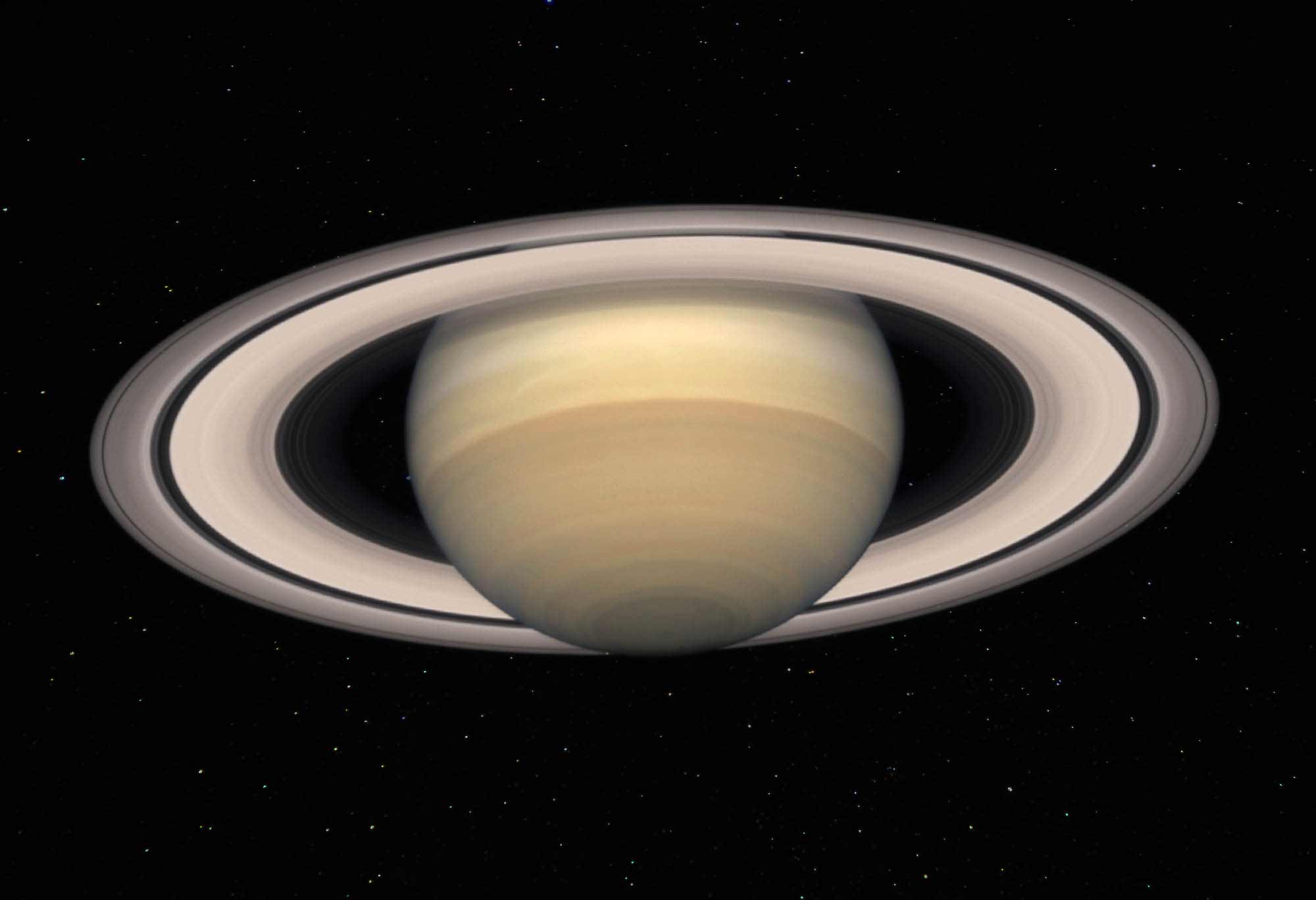 Сатурн и его система колец