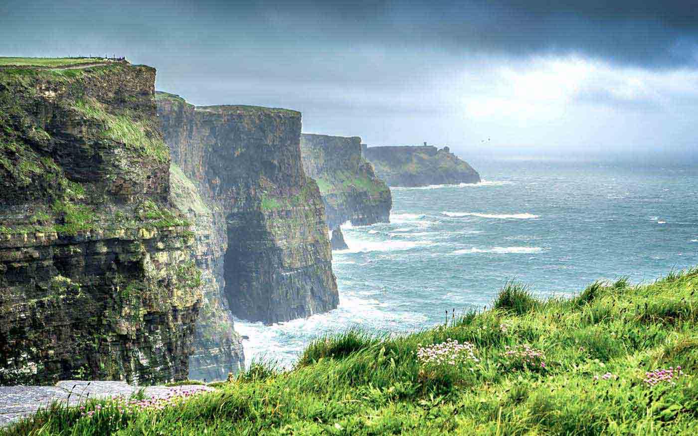 Скалы Мохер в графстве Клэр (Ирландия)