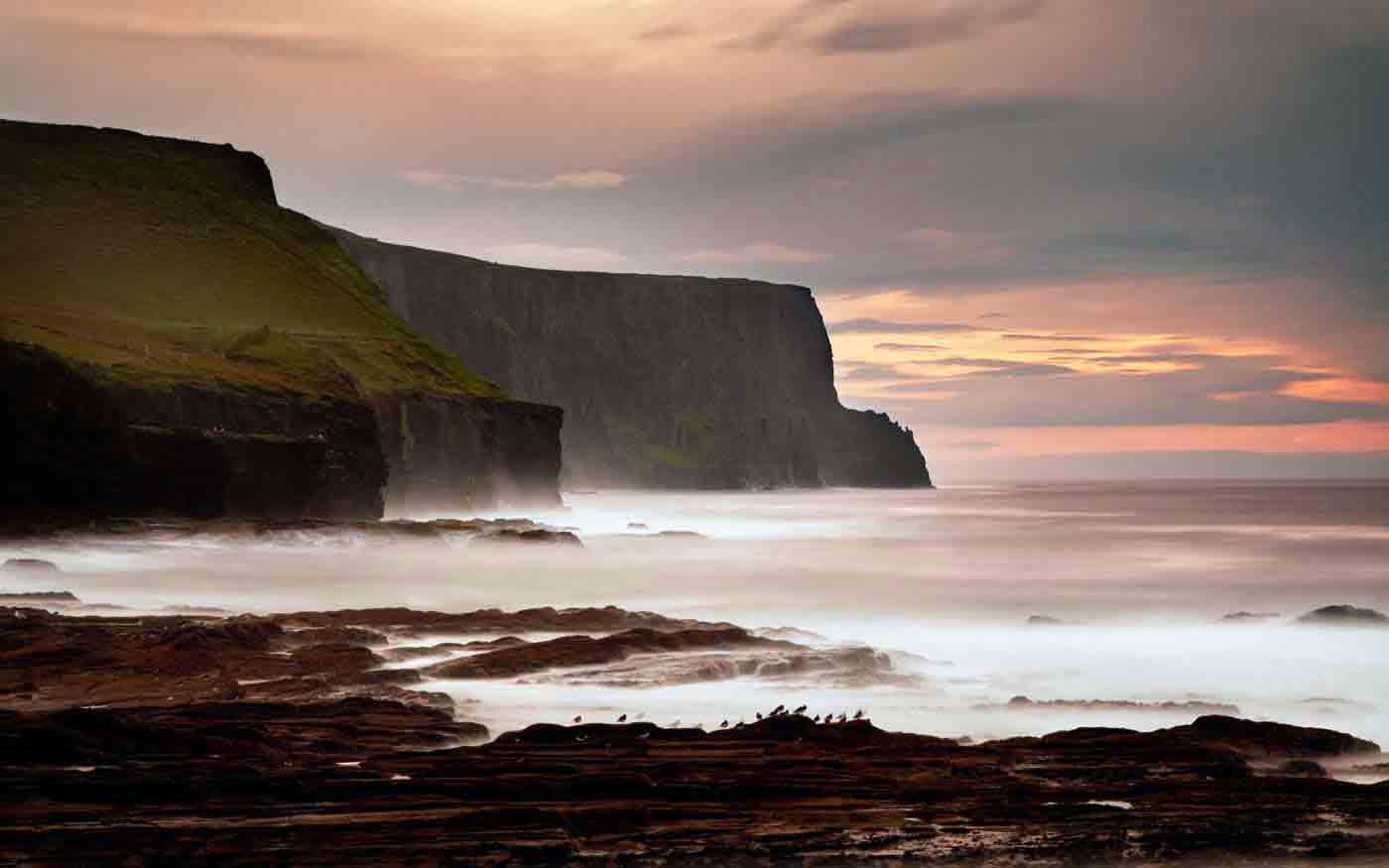 Скалы-Мохер-в-графстве-Клэр-(Ирландия)