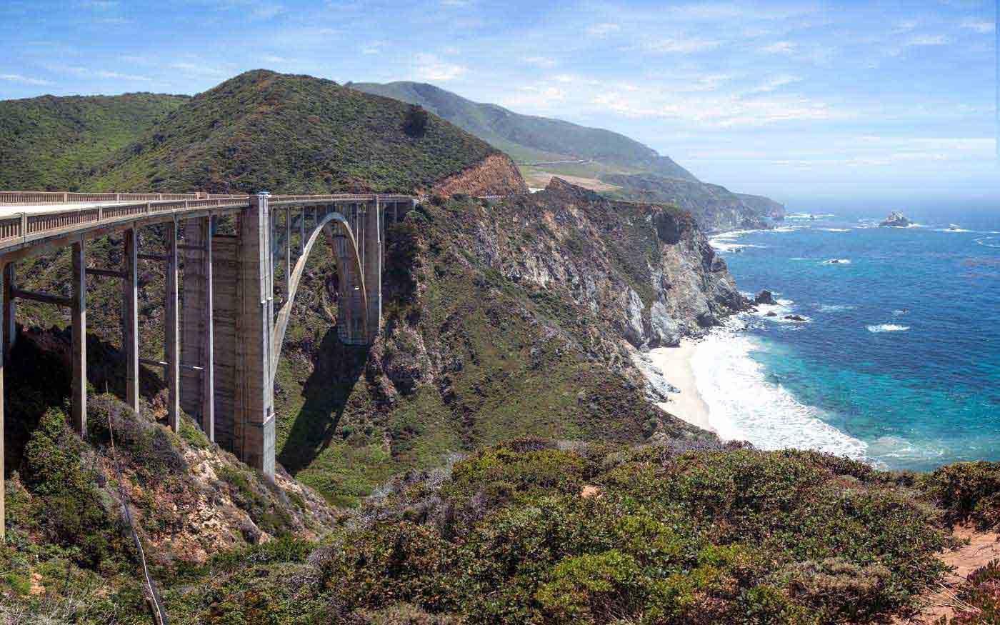 Скалы-на-побережье-Биг-Сур-(Калифорния,-США)