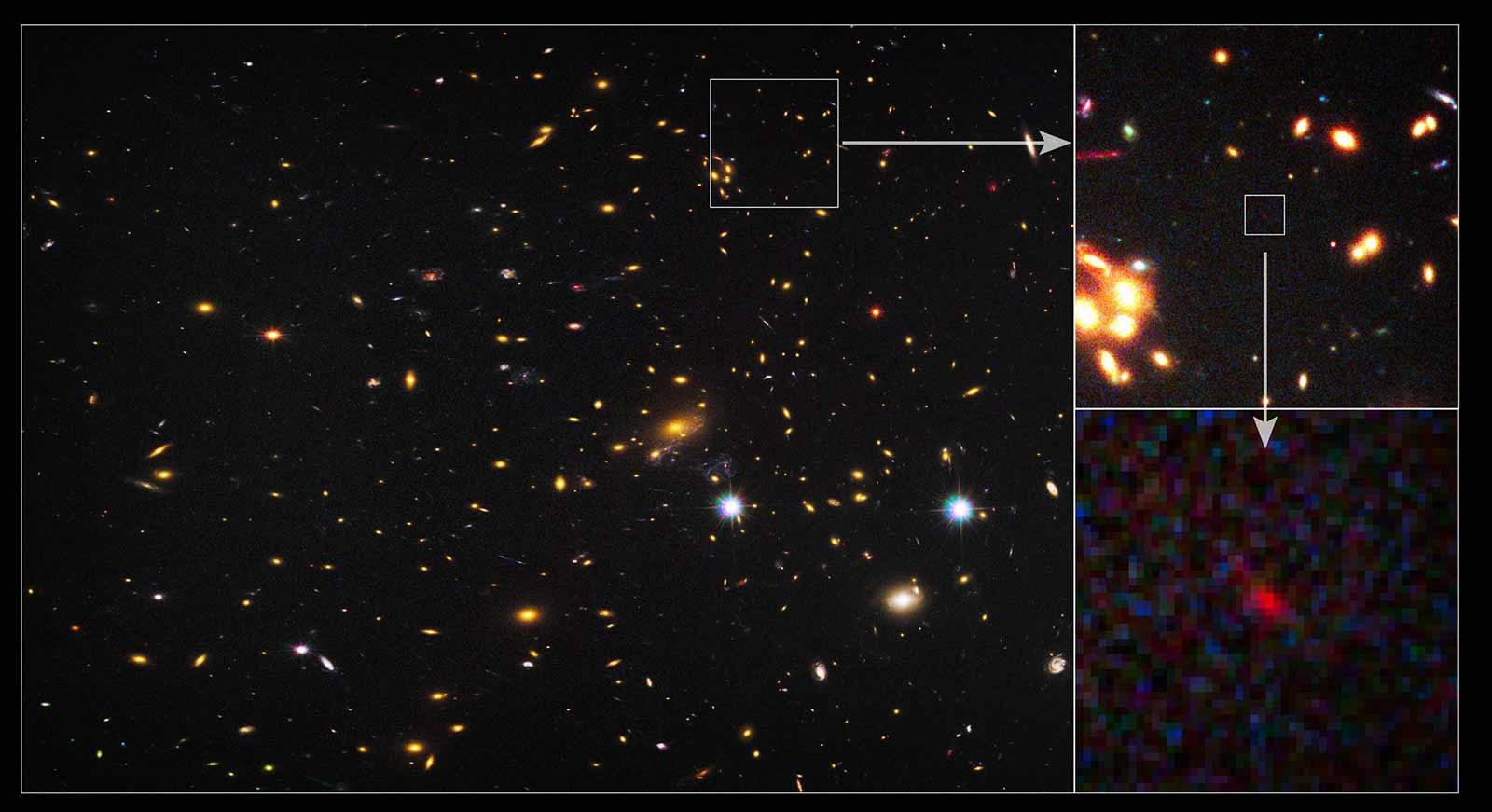 Старейшие галактики