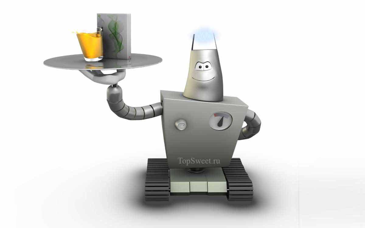 Роботы - официанты