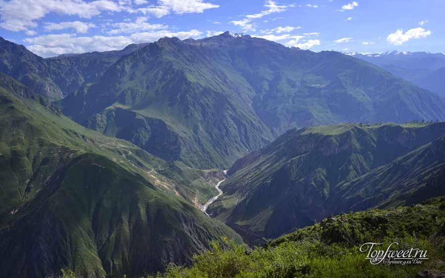 Каньон Колка (Colca Canyon). ТОП 12 самых красивых каньонов Мира