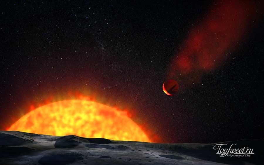 Планета Осирис (HD 209458 b)
