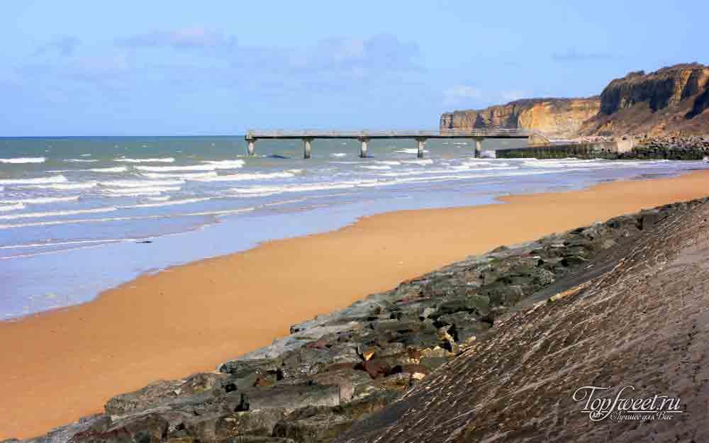 Пляжи в Нормандии