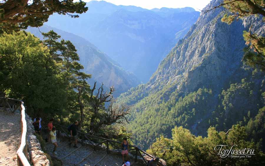 Самарийское ущелье (Samaria Gorge)