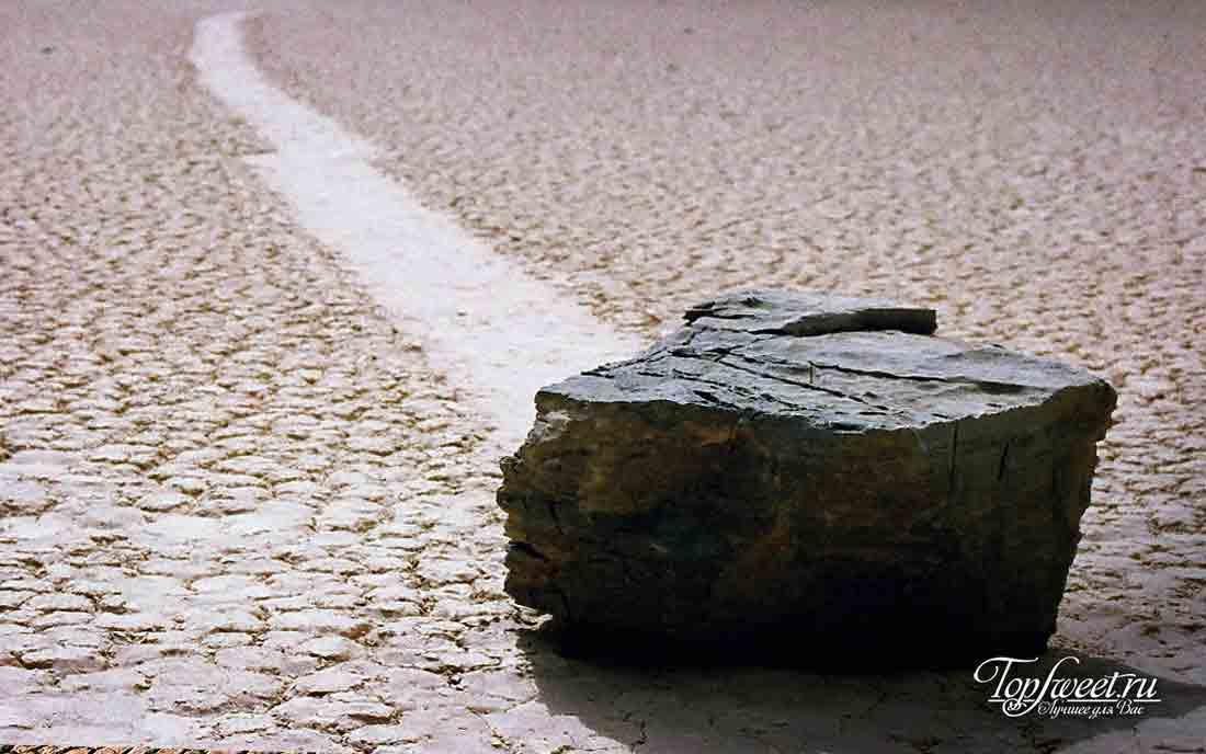 10 тайн мира, которые были разгаданы наукой. Движущиеся камни.