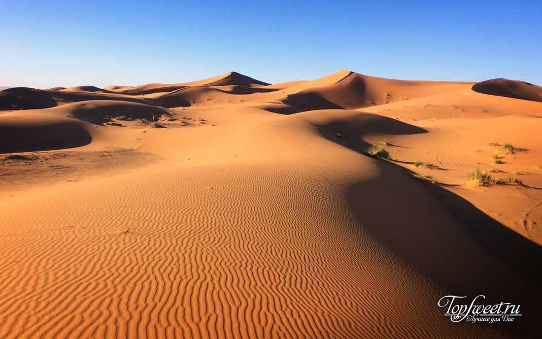 Поющие песчаные дюны