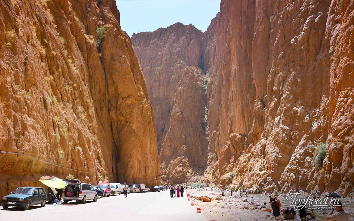 Ущелье Тодра (Todra Gorge). ТОП 12 самых красивых каньонов Мира