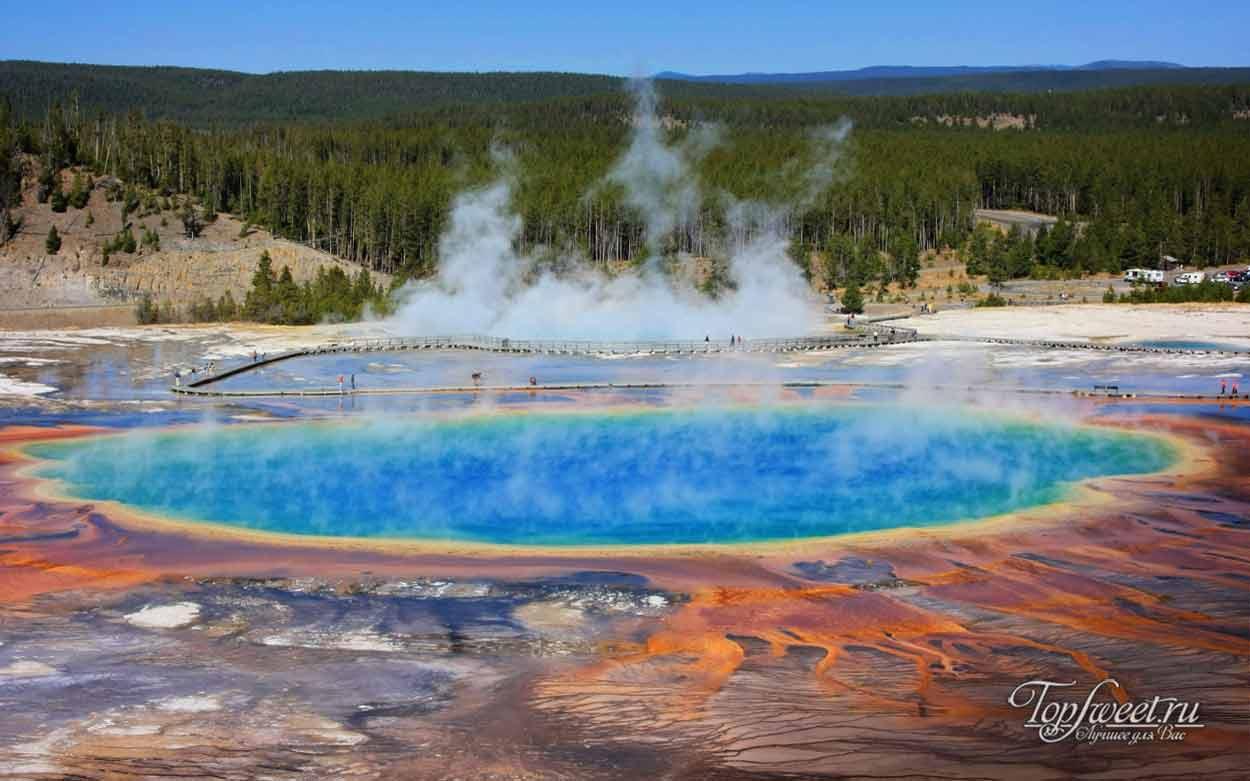 ТОП 7 лучших горячих источников мира