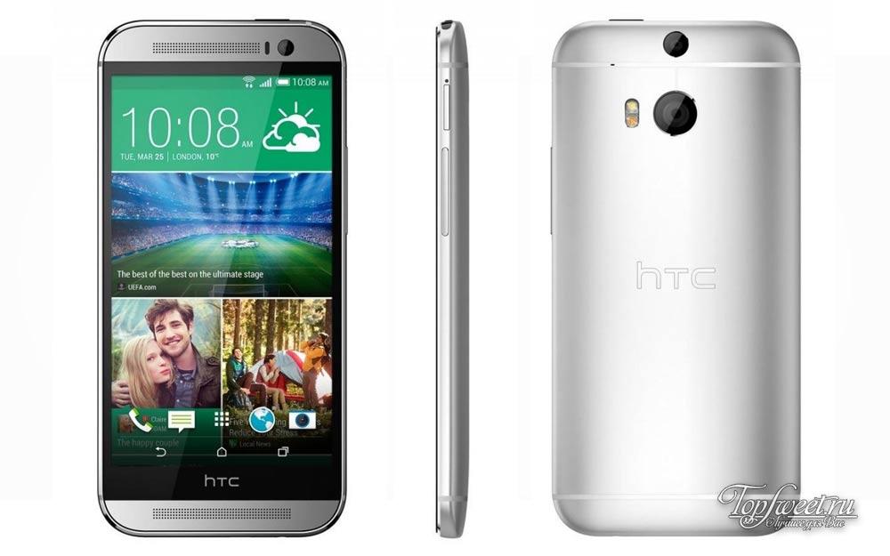 HTC One (M8 Eye). Топ 6 лучших смартфонов для Селфи