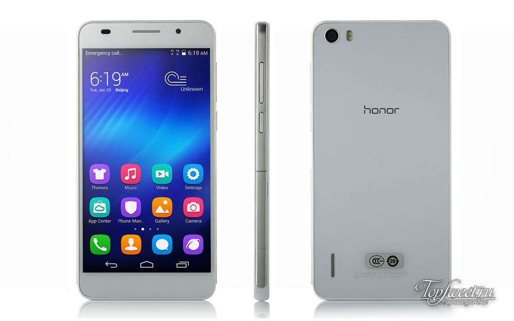 Huawei Honor 6. Топ 6 лучших смартфонов для Селфи