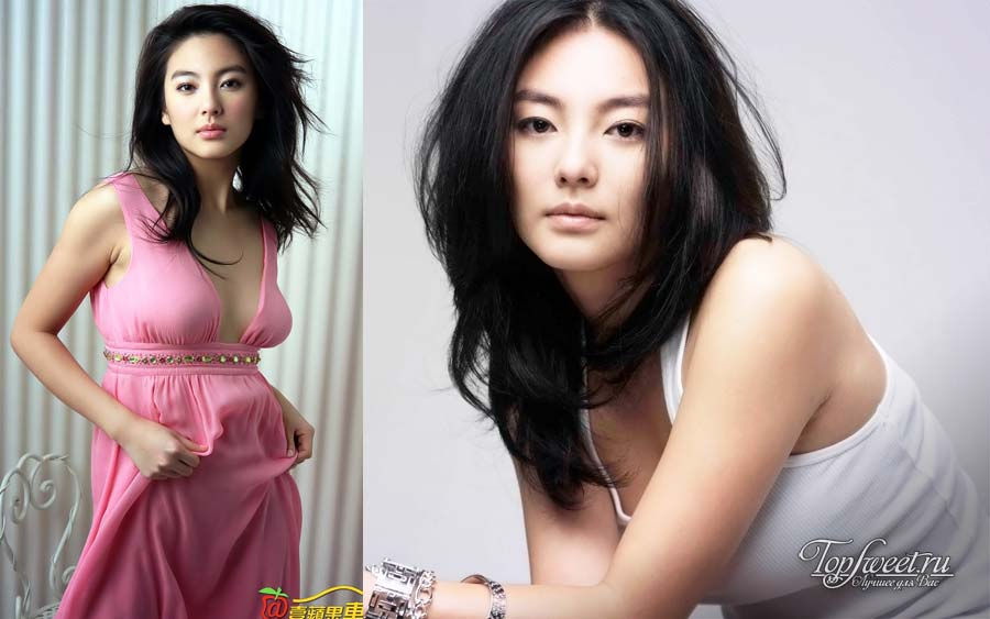 Китайская актриса Чжан Цзыи (Zhang Ziyi)
