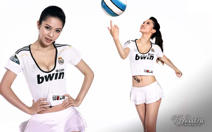 Китайская актриса и модель Гейл Лок (Gaile Lok)