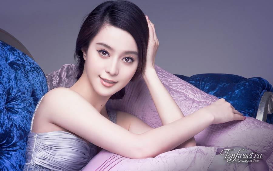 Китайская актриса и певица Фань Бинбин