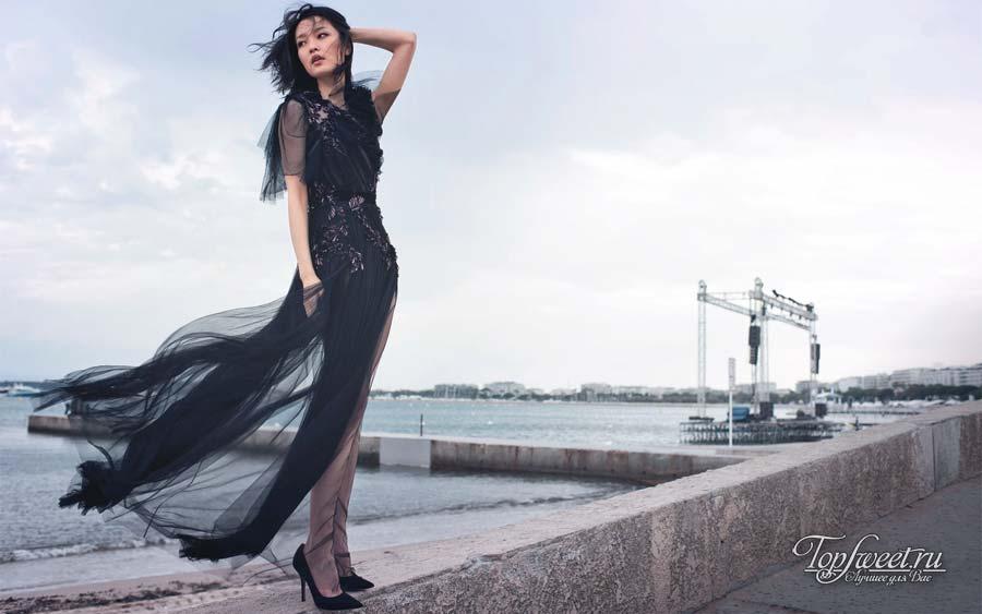 Китайская балерина, модель и актриса Ду Хуан (Du Juan)