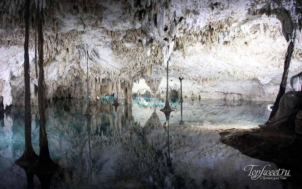 Подземные реки в Мексике