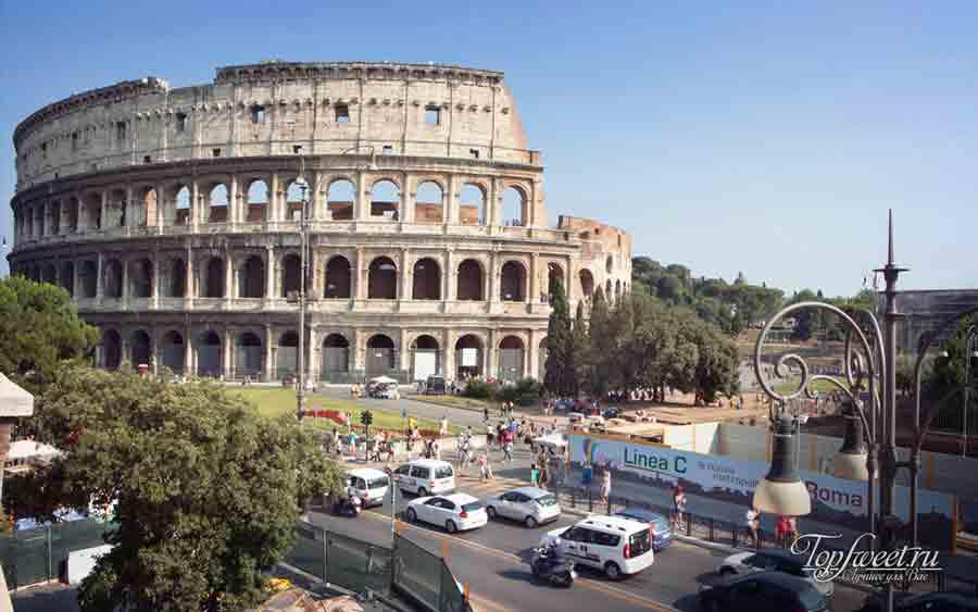Пробки в Риме