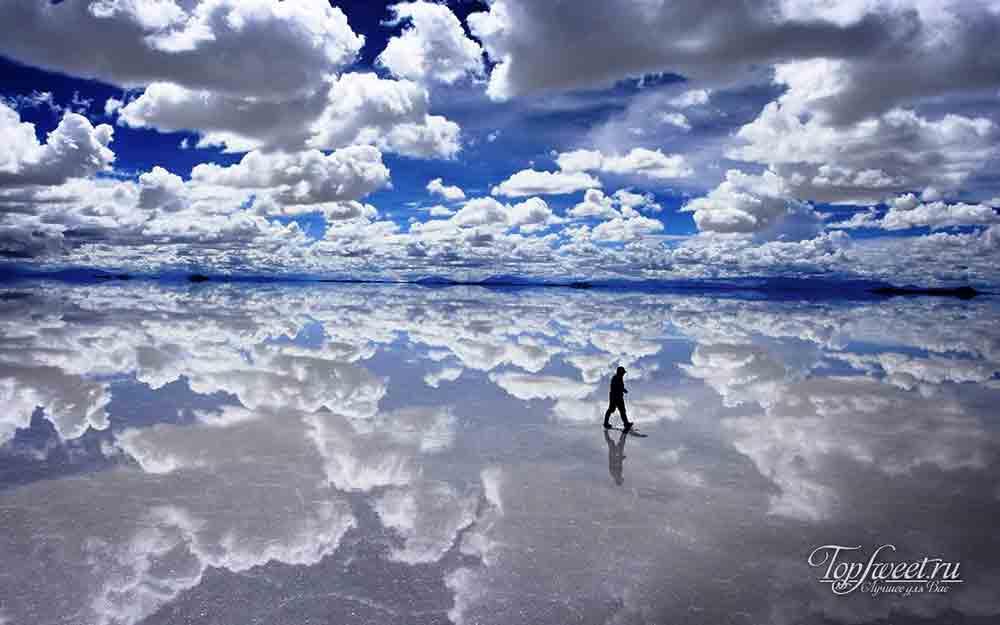 Солончаки в Боливии