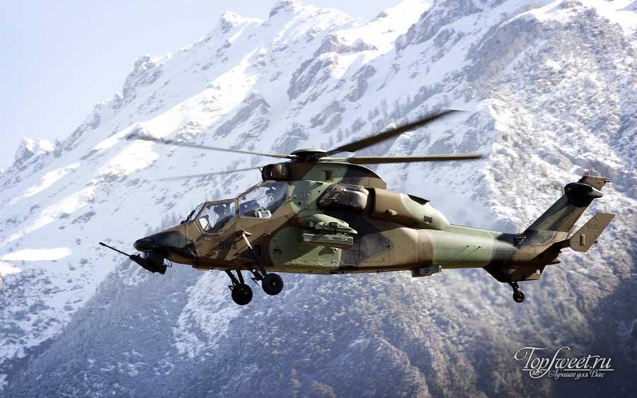 Ударный вертолет Eurocopter Tiger