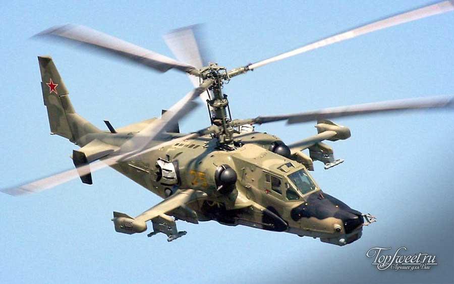 """Ударный вертолёт Ка-50 """"Черная акула"""""""
