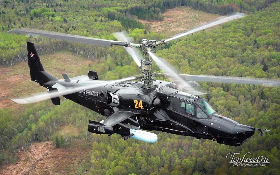 "Ударный вертолёт Ка-52 ""Аллигатор"""