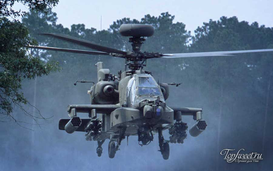 Ударный вертолёт AH-64D Apache Longbow