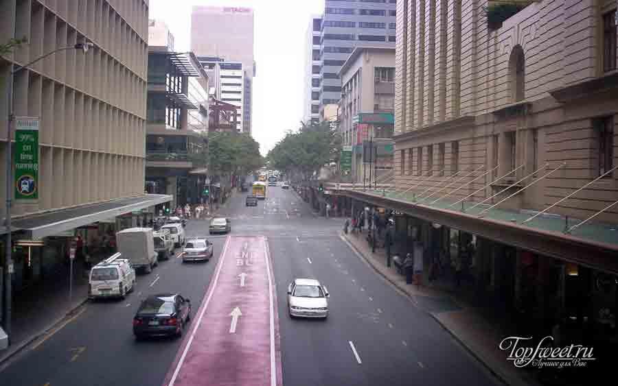 Улица в Брисбене