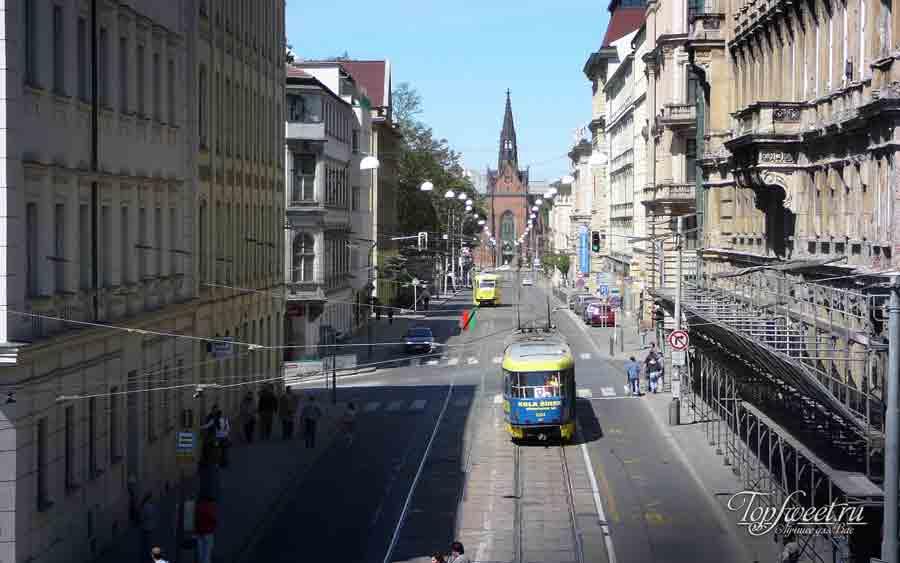 Улица в Брно