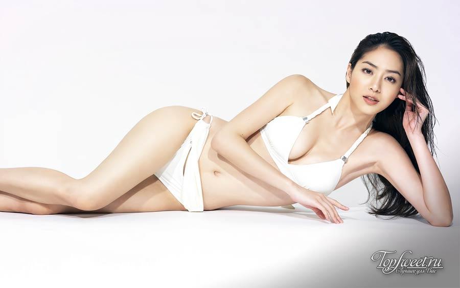 китайская актриса и модель Bianca Bai