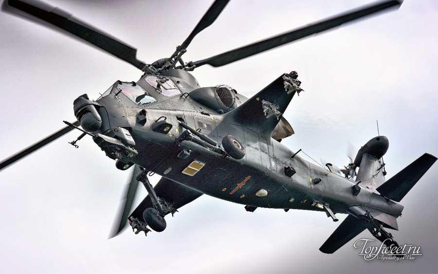 ударный вертолёт CAIC WZ-10 (Китай)