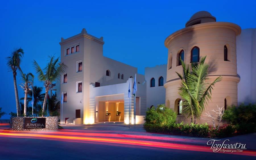 Один из отелей в городе Салала