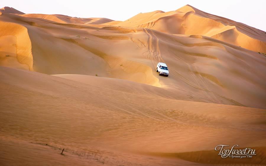 Пустыня Вахиба