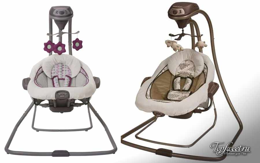 Graco Duet Connect LX Swing + Bouncer