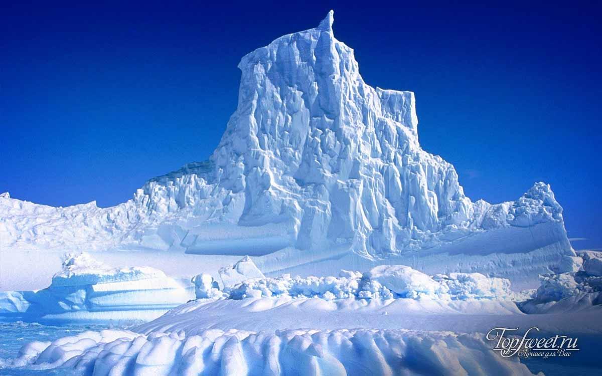 Ледник Якобсхавн (Гренландия) - крупнейший в мире быстро движущийся ледник.