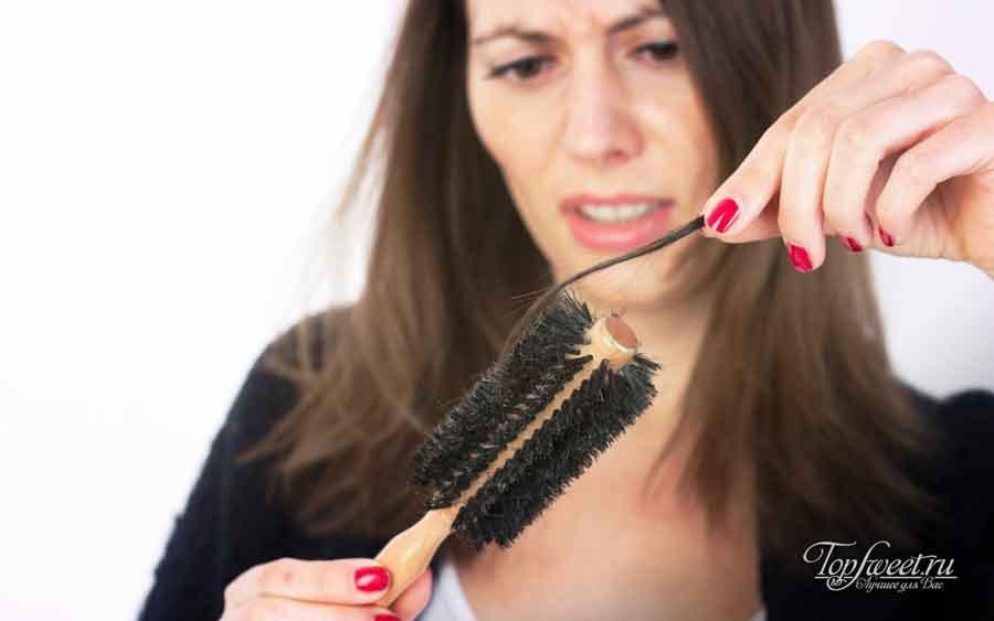 Сезонное выпадение волос