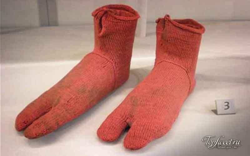 Древнейшие носки