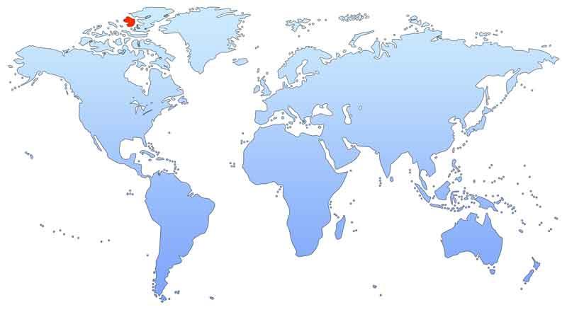 Элсмир на карте