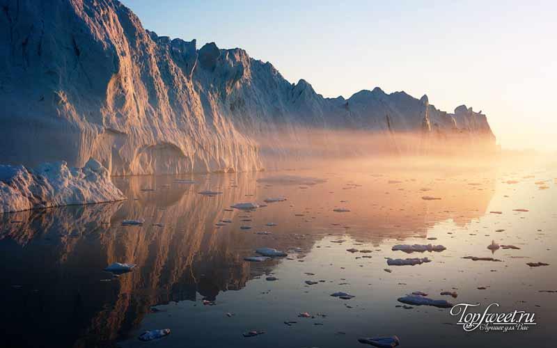 Ледяной берег Гренландии