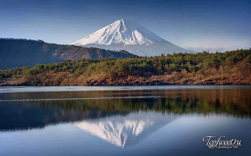 Остров Хонсю. Гора Фудзияма