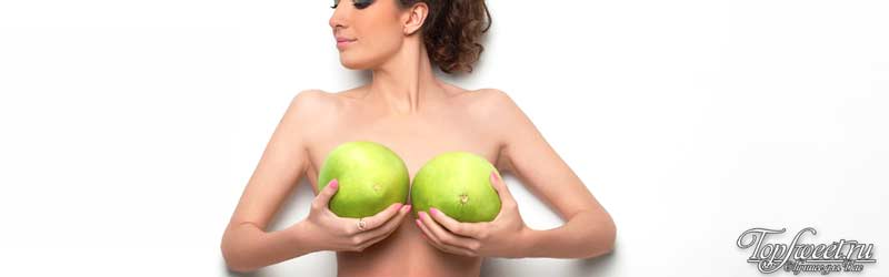 Женская грудь привлечет парней
