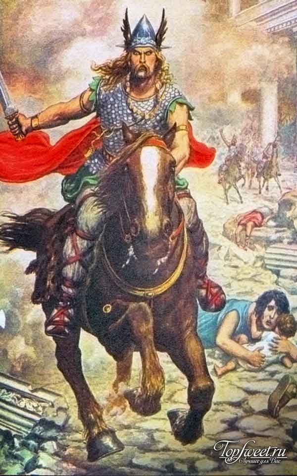 Аттила. ТОП-10 самых жестоких правителей в истории