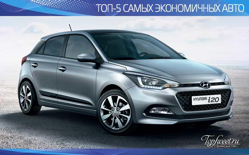 Hyundai i20 1.1 CRDi Blue. Рейтинг автомобилей по расходу топлива