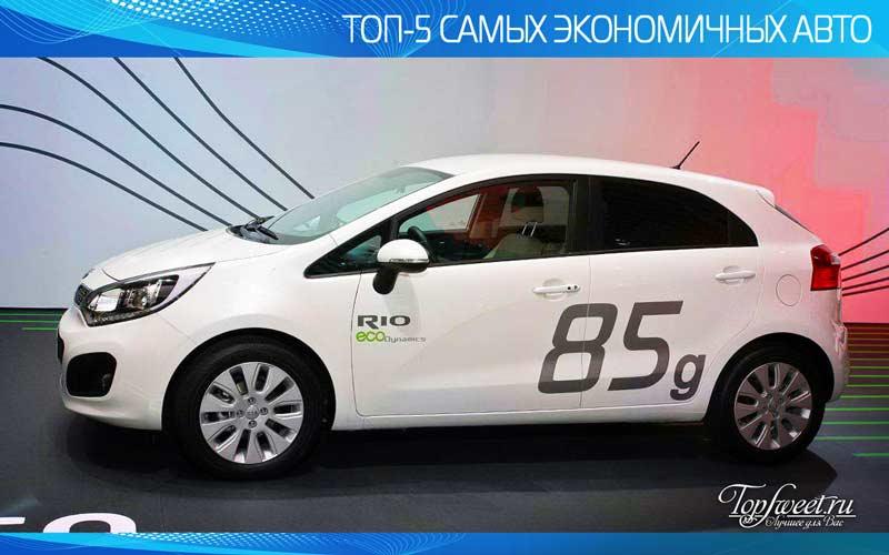 Kia EcoDynamics - самый экономичный автомобиль