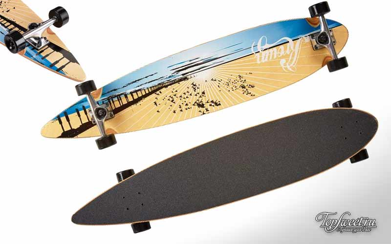 Krown-Wood-Sunset-Complete-Longboard-Skateboard