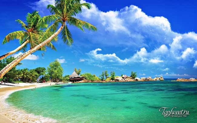 Один из пляжей на о.Чанг