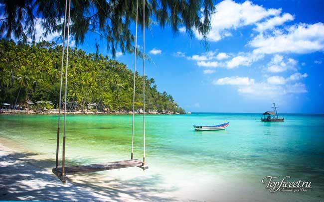 Один из пляжей на острове Самуй