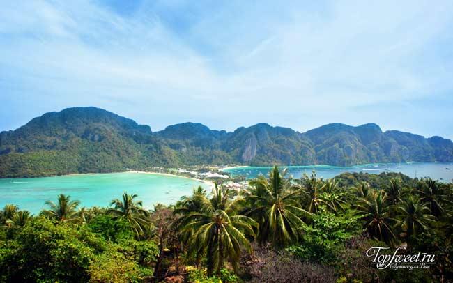 Панорама острова Пхи-Пхи-Дон