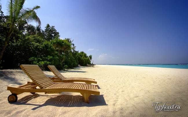 Прекрасный пляж на острове Самет